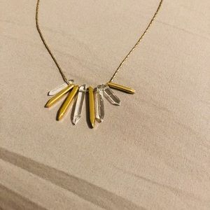 "Stella & Dot Jewelry - 15 "" crystal pendant Stella & Dot Necklace"